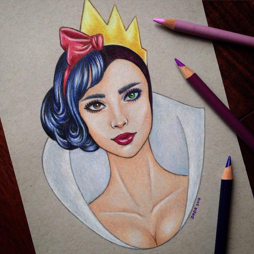 Snow White vs the Evil Queen