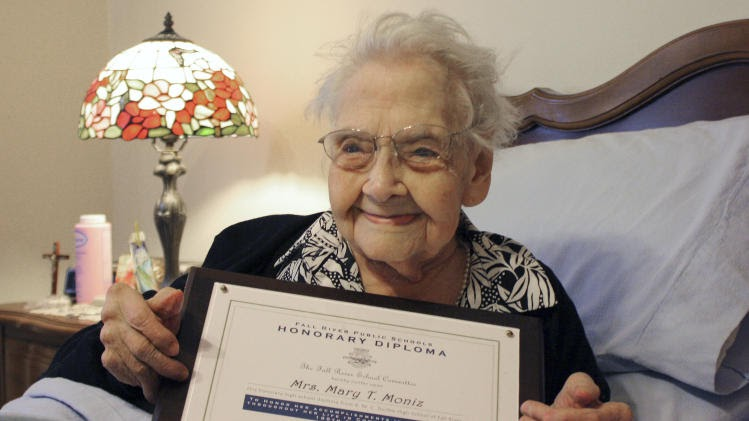welcome to ollyjay u0026 39 s blog  centenarian gets honorary high