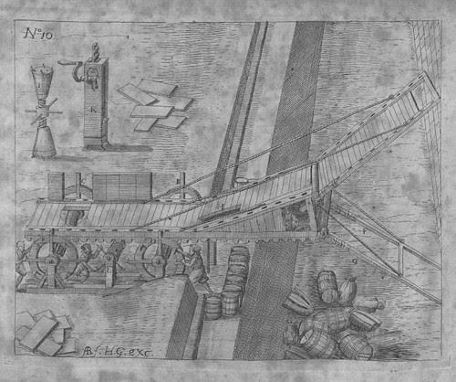 Heinrich Zeising - Theatri machinarum Erster - 1613 n