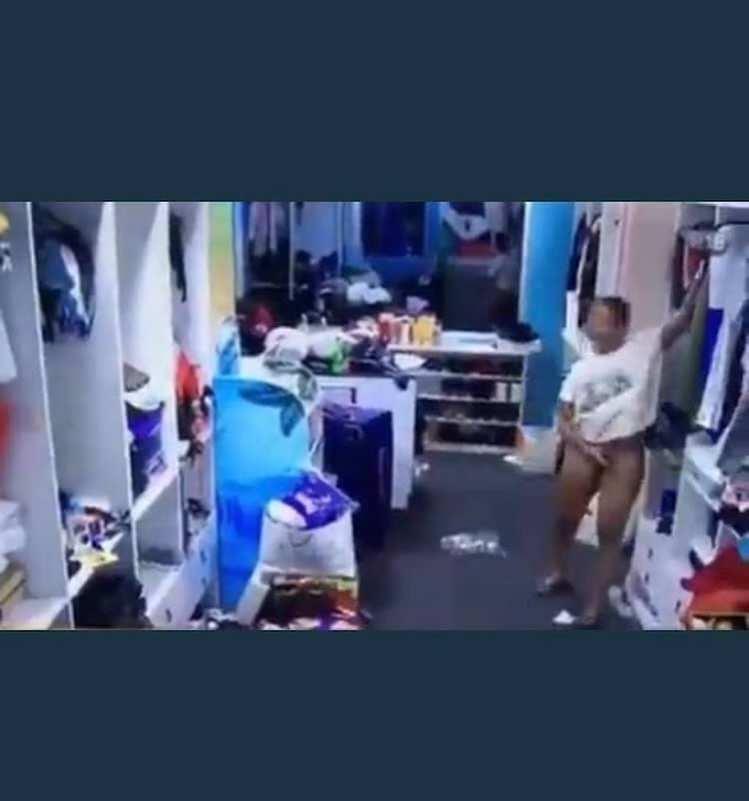 #BBNaija: She is a marketer - Whitemoney says after Angel deliberately flashed her v*gina (video)