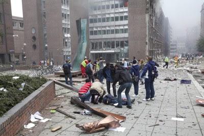 Atentados na Noruega fizeram pelo menos 16 mortos.