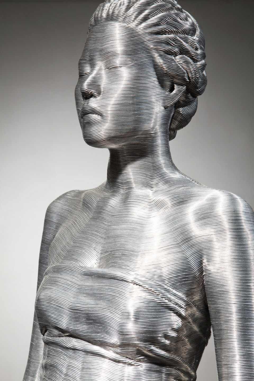 Seung Mo Park's Amazing Aluminum Wire Sculptures