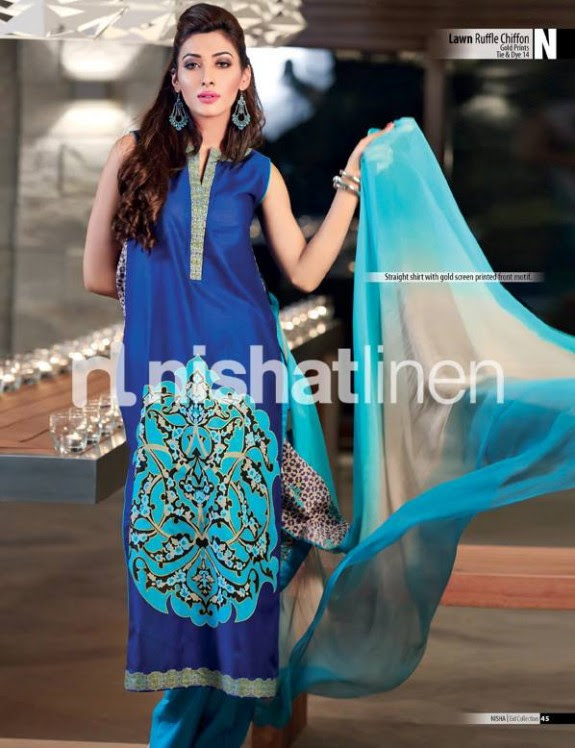 Nisha-New-Eid-Lawn-Summer-Lawn-Prints-Suits-Latest-Collection-2013-by-Nishat-Linen-1