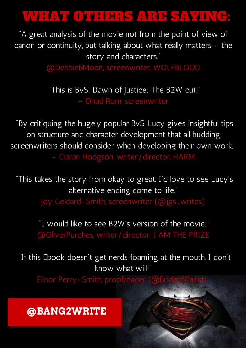 Another Free Ebook B2w Script Edits Batman V Superman Dawn Of