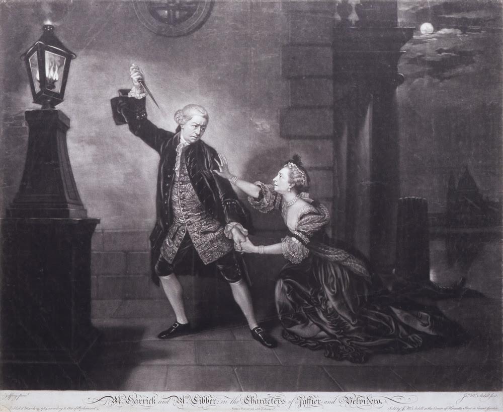 Resultado de imagem para robert garrick famous actor of 18th century