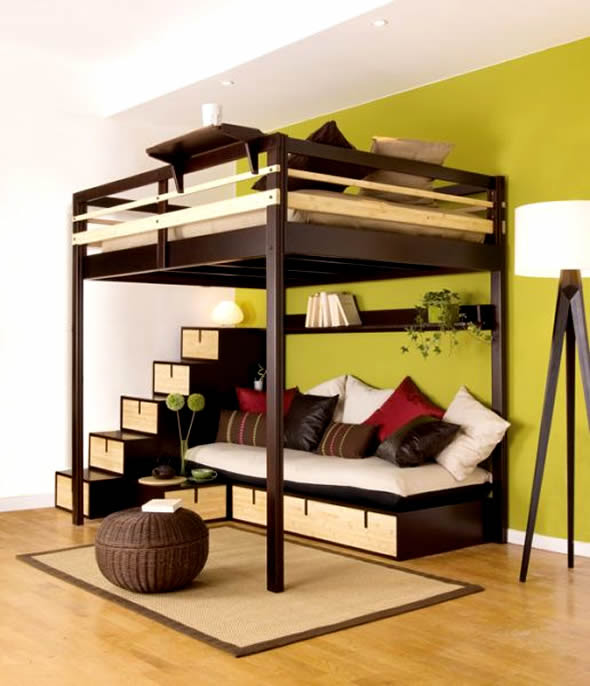Top 10 Picture of Small Space Bedroom Furniture   Patricia ...
