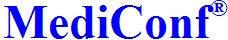 MediConf logo