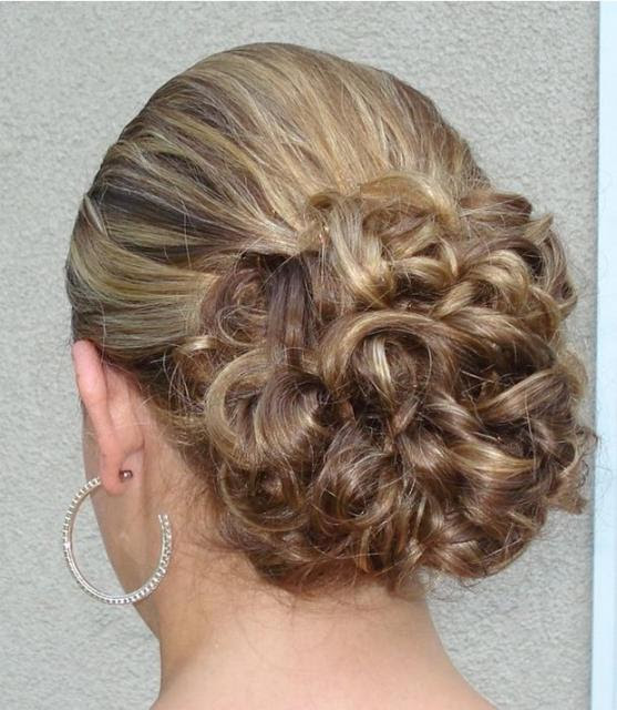 Side Swept Chignon Wedding Hairstyles Easy To Do Pictures Picture Of Simple Bridal Updo Hairstyle Yourself