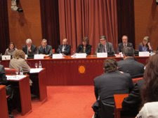 La Fiscal Jefe De Catalunya T.Compte Con Los 4 Fiscales Jefes Provinciales