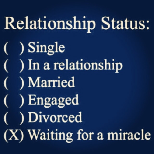 Relationship Statuswaiting On A Miracle Pictures Photos And