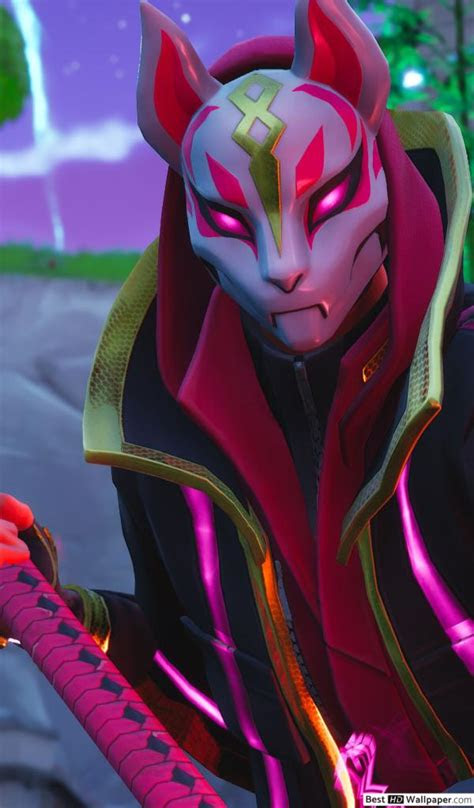 cat masked fortnite hd wallpaper