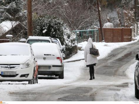 Καιρός - Πρωτοχρονιά: Έρχεται πολικό ψύχος! Έκτακτο δελτίο - Χιόνια και στην Αθήνα