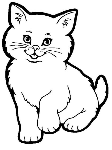 cat coloring pages  good   teach kids  love cats