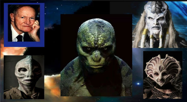 a top retired romanian general has claimed that reptilian aliens exist