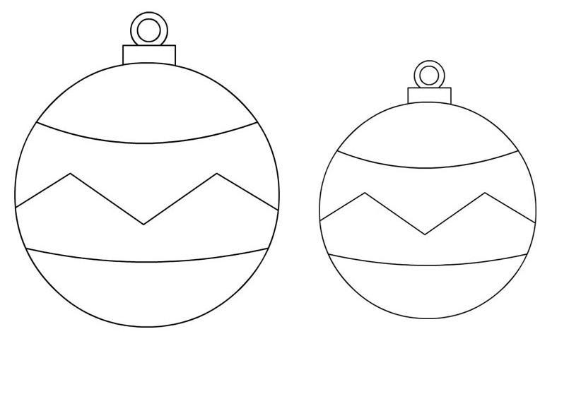 Palline Di Natale Da Ritagliare Disegni Di Natale 2019
