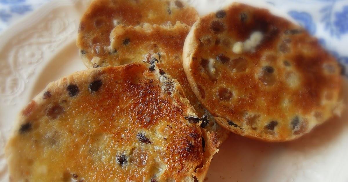 English Toasted Tea Cakes Recipe