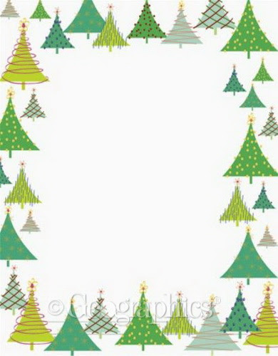 30 Christmas Border Template Microsoft Word