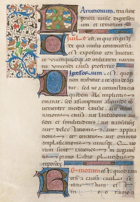 73v - Cod. Bodmer 176 (Rhetorica - 1471)
