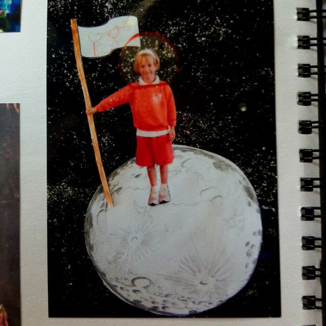 """Me on the Moon"" Space Unit"