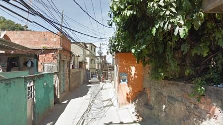 A Rua Joaquim de Queiroz, onde o suspeito foi preso