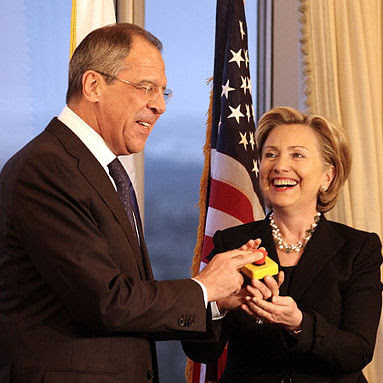 Image result for hillary clinton russia reset