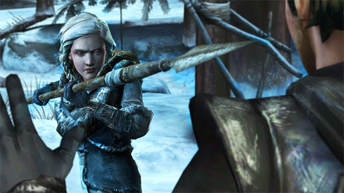 Uma nova selvagem aparece em Game of Thrones (Foto: Divulgação)