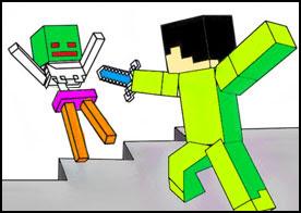 Minecraft Boyama Kitabı Oyunu Türkçe Oyunlar