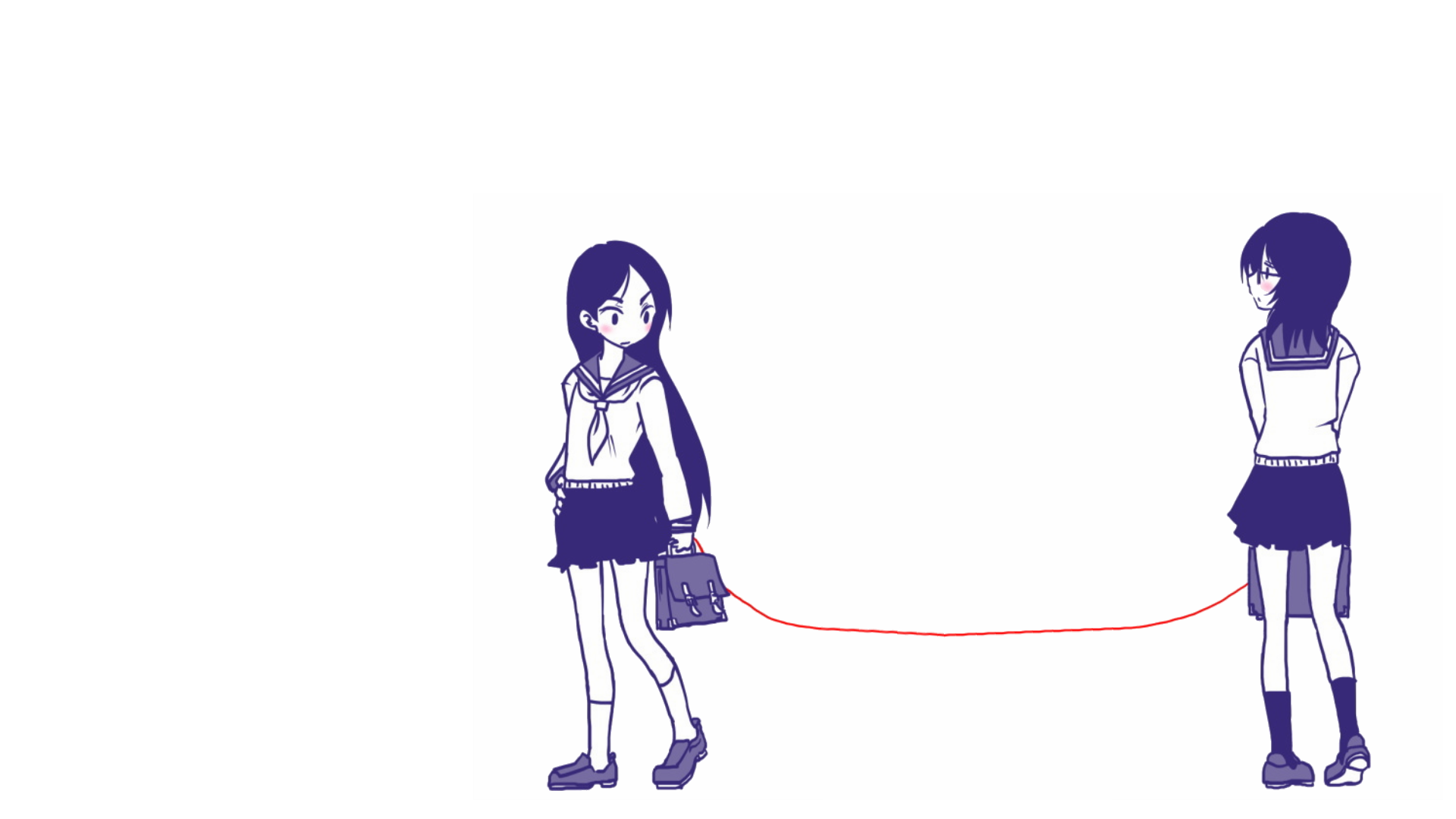 The Red String Has Spoken Sayonara Zetsybou Sensei Awwnime