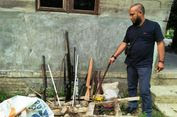 Kejar Pelaku Penganiayaan, Polisi Temukan Pabrik Senjata Api Rakitan