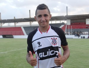 Thiago Potiguar, Corinthians-AL 2x1 Murici  (Foto: Paulo Victor Malta / Globoesporte.com)