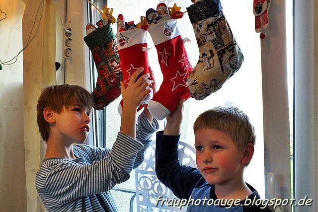 Weihnachts Socke