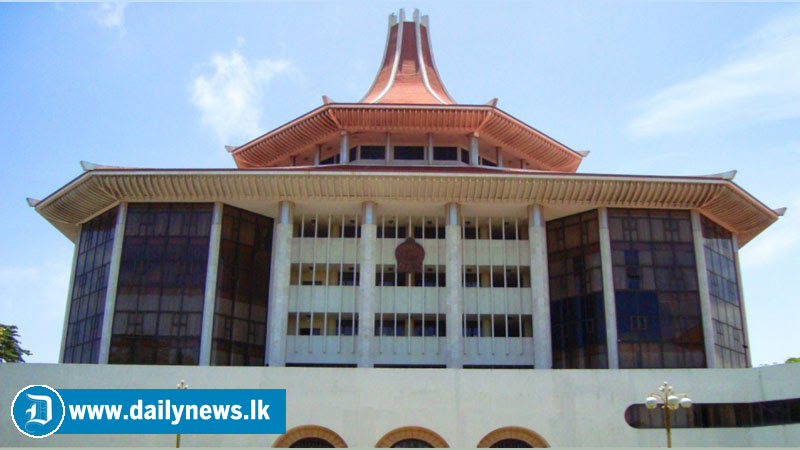 Case filed against former Chief Justice Sarath N. Silva