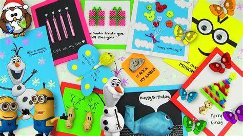 DIY Gifts! 10 Easy DIY Card Ideas (DIY Cards with
