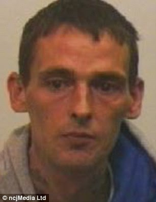 Dealer: Brian Mitchell, 37, was jailed for four years after he admitted supplying heroin and diazepam