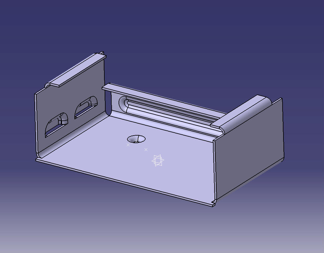 CATIA V5 Sheetmetal | Keltia Design Inc.