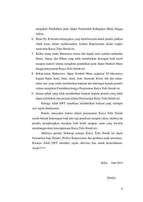 Asuhan keperawatan pada klien ny. r dengan post op sectio