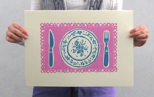 plate print