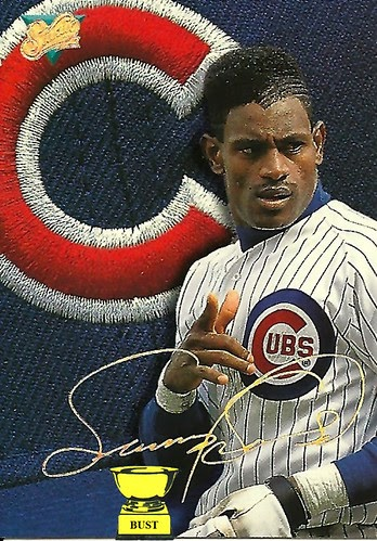 Baseball Card Bust Sammy Sosa 1993 Studio