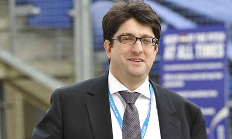 Lord Feldman at the Conservative party conference in 2011.
