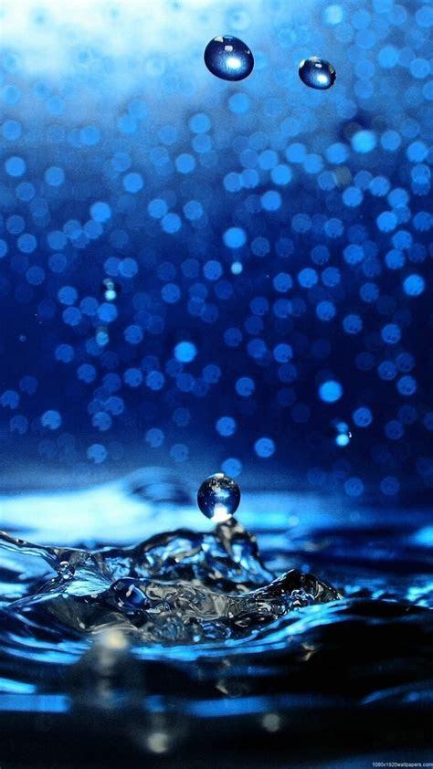 Sparkling water drop   iPhone Wallpaper