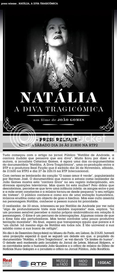 Natália, A Diva Tragicómica