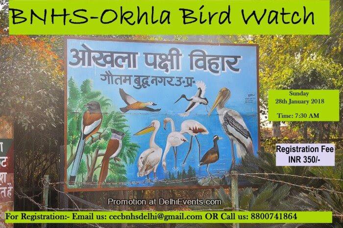 BNHS CEC-Delhi Birding Trip Asola Creative