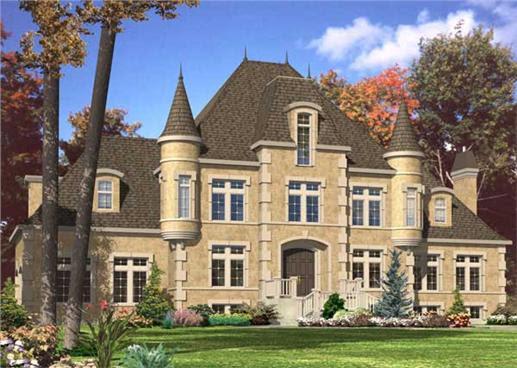 European Home Plans - Home Design 532