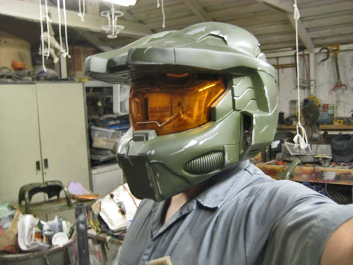 Partial Helmet Paintjob