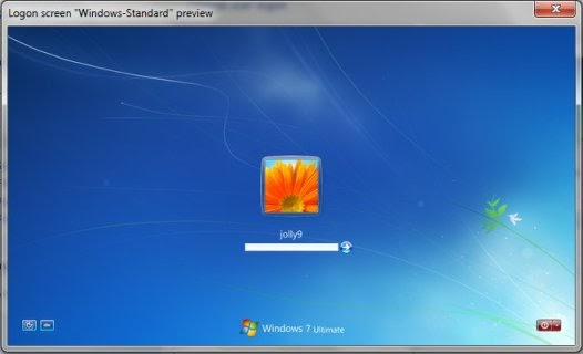 Wallpaper Lock Screen Windows 7: Mengganti Background Logon Screen Windows 7