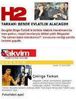 Turkish papers have begun to print favourable news in the wake of the star's sale successes