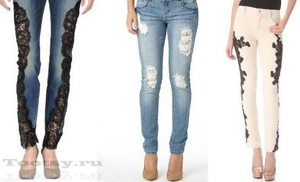 Для красивых и смелых: вязаные брюки!