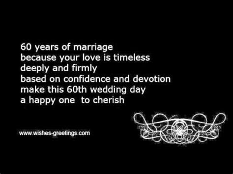 60th diamond wedding anniversary wishes   YouTube