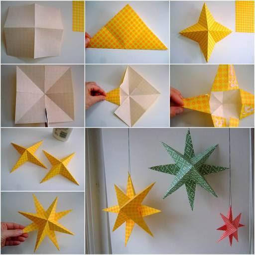 paper star decoration wonderfuldiy