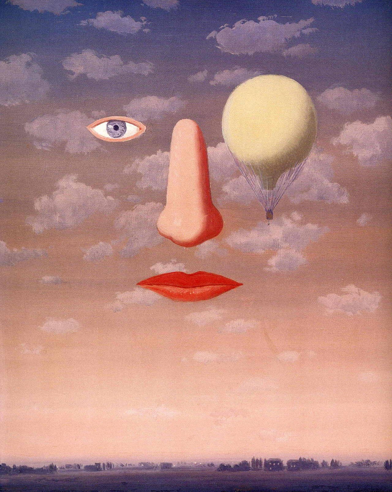 The beautiful relations, 1967 Rene Magritte